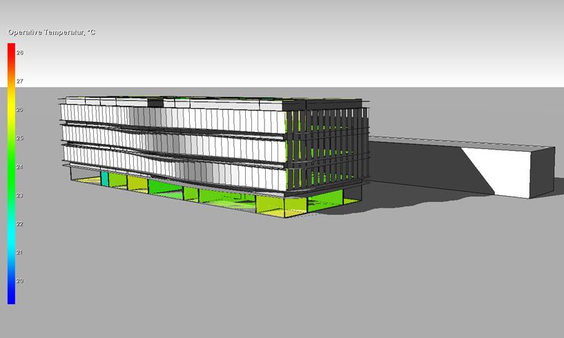 Visualisierung Gebäudesimulation mit IDA ICE